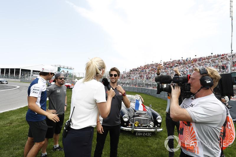 Ромен Грожан, Haas F1 Team, Лэнс Стролл, Williams, Фернандо Алонсо, McLaren