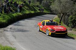 Salvatore Riolo, GianFrancesco Rappa, Abarth 124 Rally