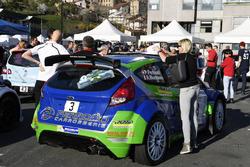 Pascal Perroud, Romain Blondeau, Ford Fiesta R5, Verifiche tecniche