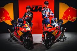 Niccolo Antonelli, Red Bull KTM Ajo and Bo Bendsneyder, Red Bull KTM Ajo