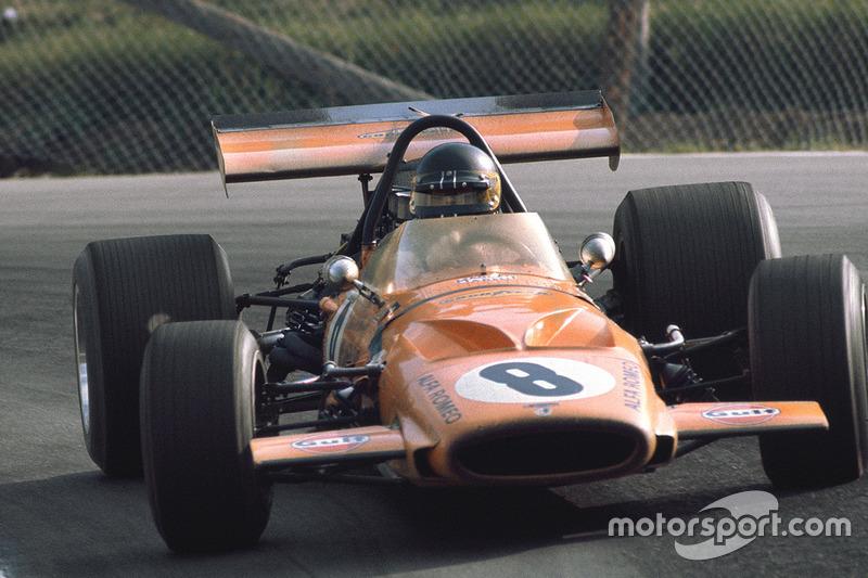 Andrea de Adamich, McLaren M14D Alfa Romeo (1970)