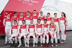 Alle Fahrer im Audi TT Cup 2017