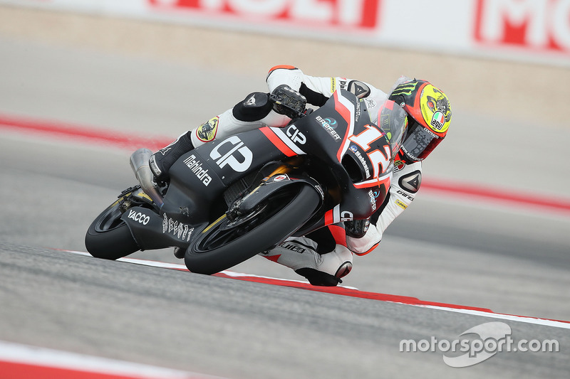 Moto3 Race report Austin Moto3: Fenati wins red-flagged race, Bezzecchi top Mahindra rider