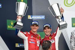 Podium GTE-Pro: #51 AF Corse Ferrari 488 GTE: James Calado, Alessandro Pier Guidi