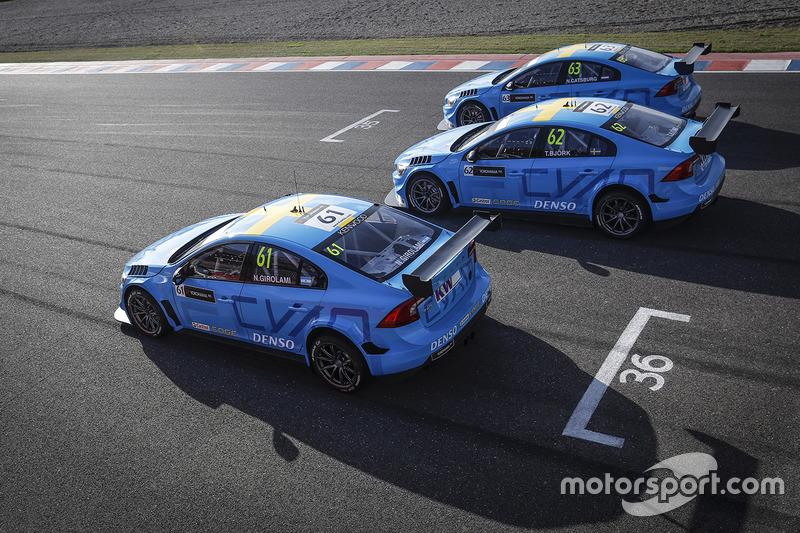 MAC3: Nicky Catsburg, Thed Björk, Nestor Girolami, Polestar Cyan Racing, Volvo S60 Polestar