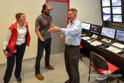 Keanu Reeves en Mugello