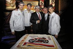 Giovanni Cuzari with Luca Marini, Lorenzo Baldassarri, Forward Racing