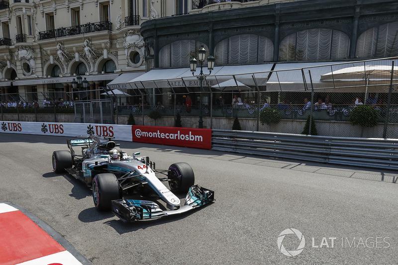 13. Lewis Hamilton, Mercedes AMG F1 W08