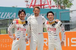 Hideki Mutoh, Jenson Button, Daisuke Nakajima