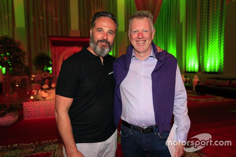 Yvan Muller; Eric Neve, Eurosport, WTCC-Berater