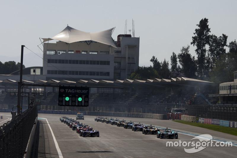 Formula E - Mexico City ePrix (March 3)