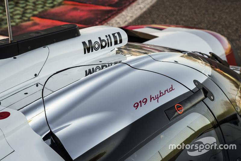 El Porsche 919 Hybrid 2017
