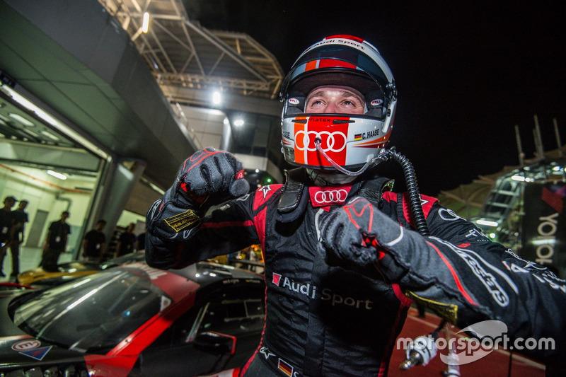 Sieger #15 Audi Sport Team Phoenix, Audi R8 LMS: Christopher Haase