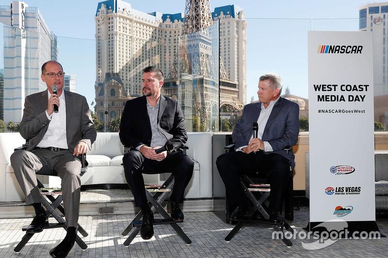 West Coast Media-Day in Las Vegas: Bryan Sperber, Streckenchef, Phoenix; Dave Allen, Streckenchef Fo