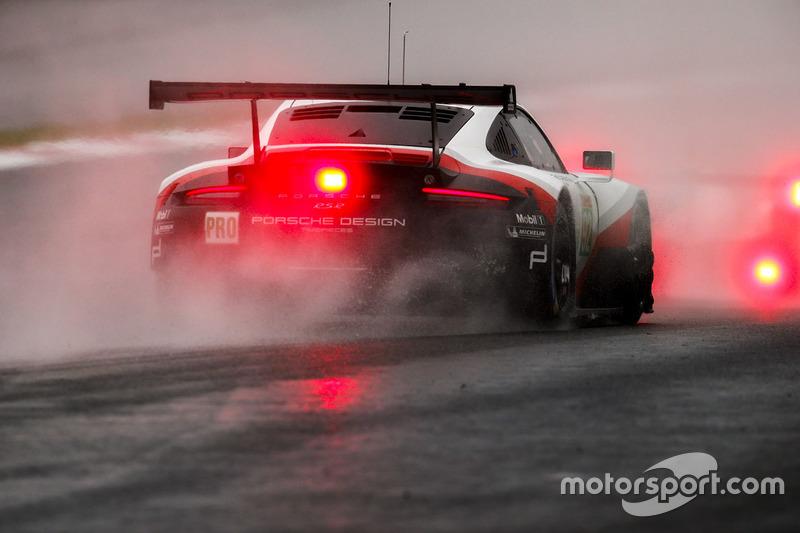 10. #92 Porsche Team Porsche 911 RSR: Michael Christensen, Kevin Estre