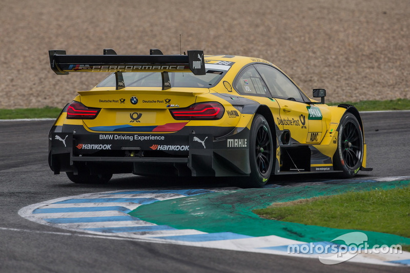 Шелдон ван дер Лінде, BMW M4 DTM