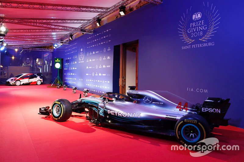 Mercedes-AMG F1 W09 de Lewis Hamilton