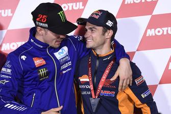 Maverick Viñales, Yamaha Factory Racing, Dani Pedrosa, Repsol Honda Team