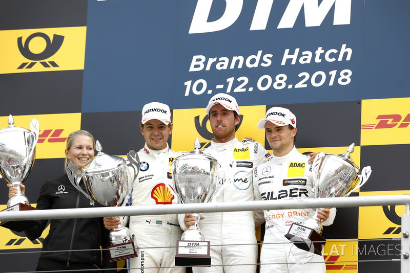 Першу гонку етапу виграв Даніель Хункаделья, для нього це була перша перемога в DTM