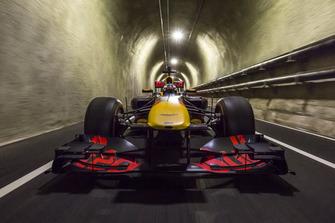 Daniel Ricciardo, Red Bull Racing in San Francisco