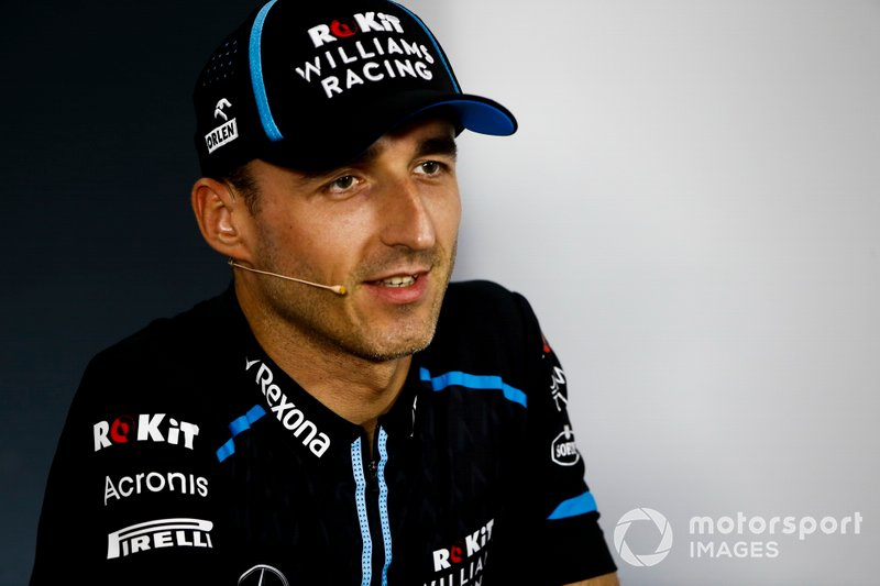 Robert Kubica, Williams Racing, en conférence de presse