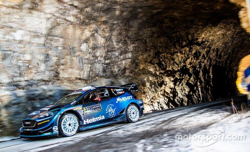 Понтус Тидеманд и Ула Флёне, Ford Fiesta WRC