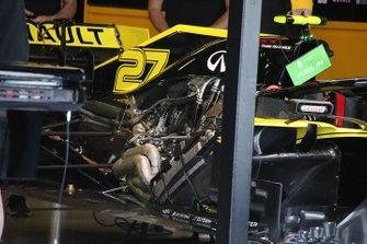 Renault F1 Team R.S.19 engine detail