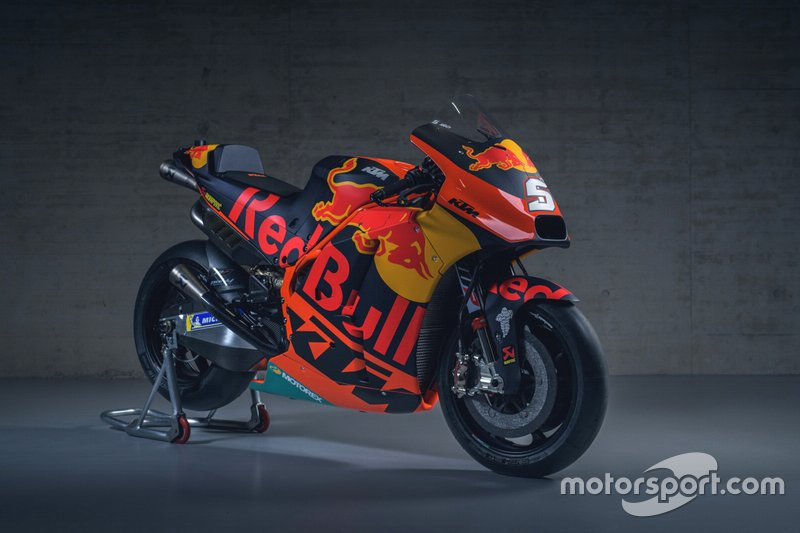Bike von Johann Zarco, Red Bull KTM Factory Racing
