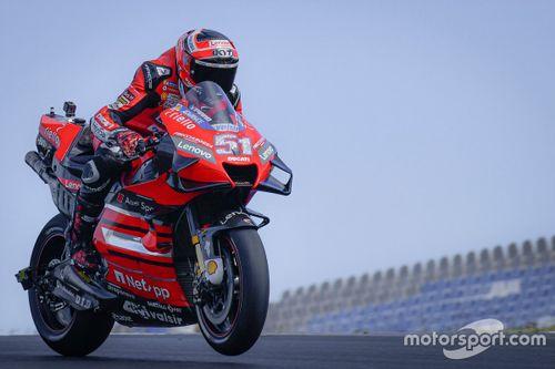 MotoGP-Piloten testen in Portimao