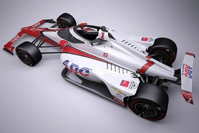 La livrea della Hildebrand Indy 500