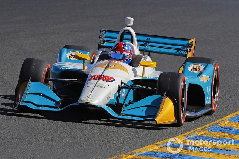 Colton Herta, Harding Racing Chevrolet