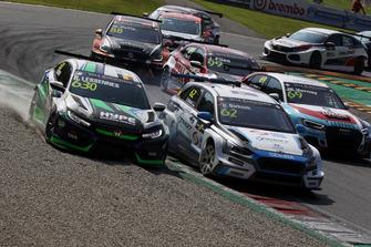 Benjamin Lessennes, Autodis Racing by THX Honda Civic Type R, Dusan Borkovic, Target Competition Hyundai i30 N TCR