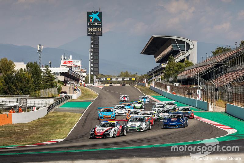 Course 1 à Barcelone