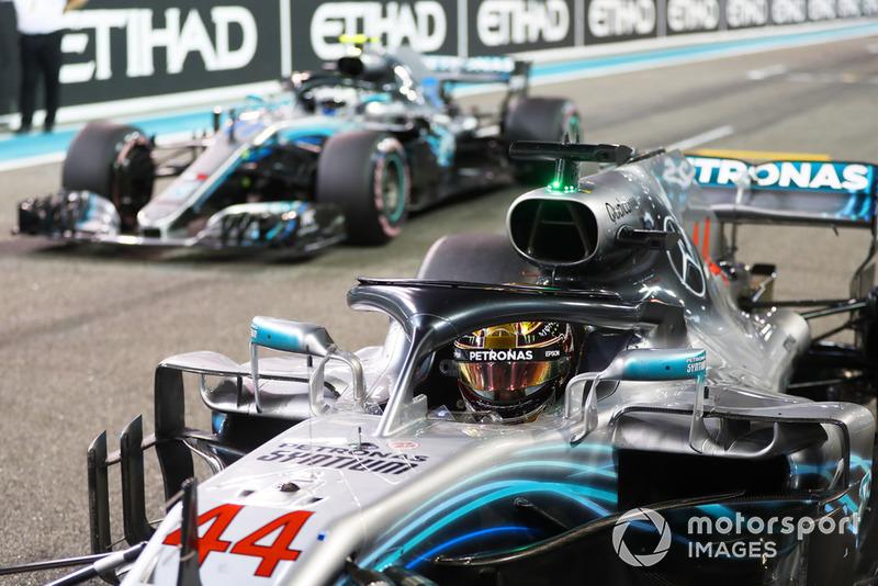 Lewis Hamilton, Valtteri Bottas, Mercedes AMG F1 W09 EQ Power+
