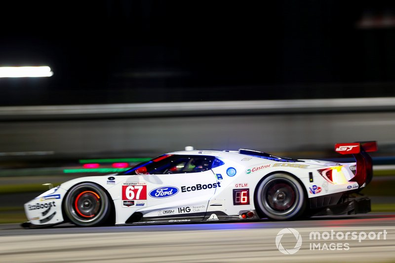 #67 Ryan Briscoe, Richard Westbrook, Scott Dixon; Ford Chip Ganassi Racing, Ford GT (GTLM)