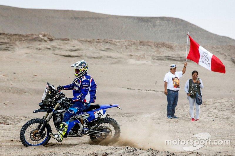 #18 Yamalube Yamaha Official Rally Team: Rodney Faggotter