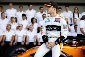 Stoffel Vandoorne, McLaren, e il team McLaren