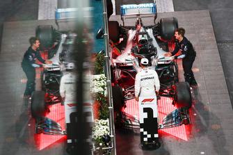 Lewis Hamilton, Mercedes AMG F1, 1st position, celebrates after the race