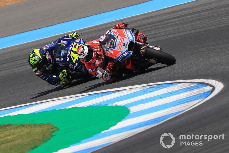 Jorge Lorenzo, Ducati Team, Valentino Rossi, Yamaha Factory Racing