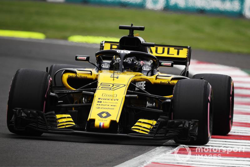 6. Nico Hulkenberg, Renault Sport F1 Team R.S. 18