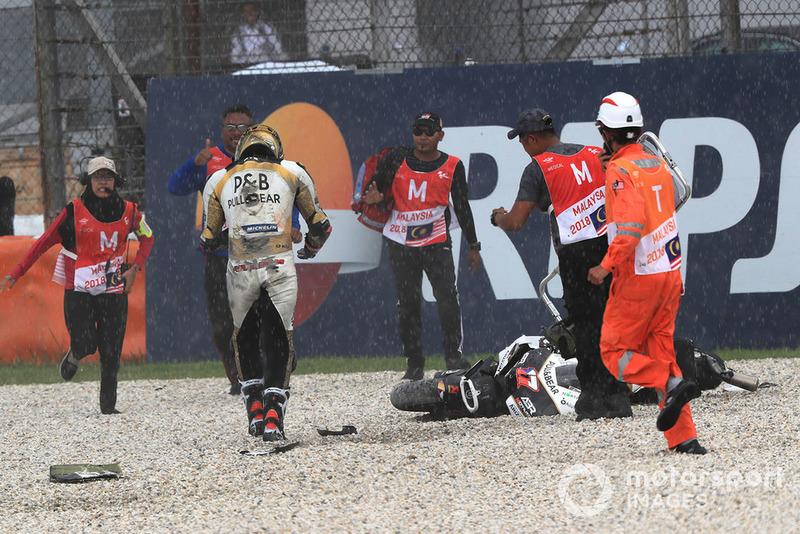 Karel Abraham, Angel Nieto Team (15 Kecelakaan)