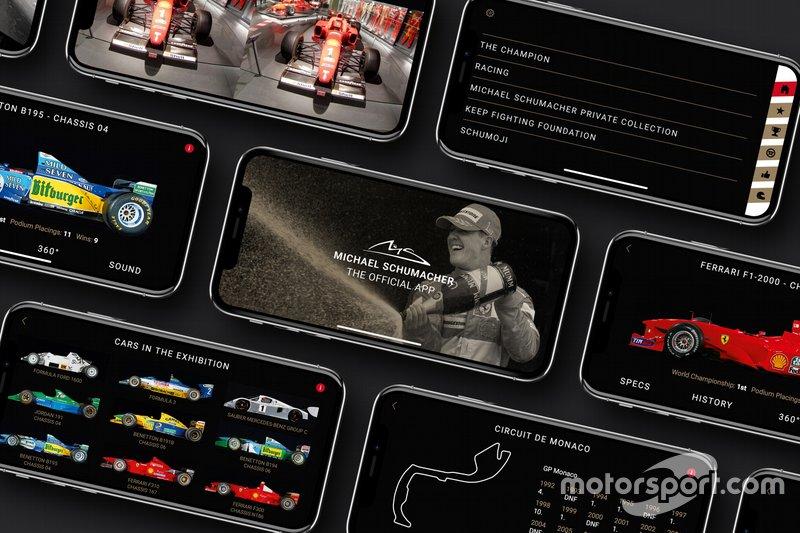 Michael Schumacher app
