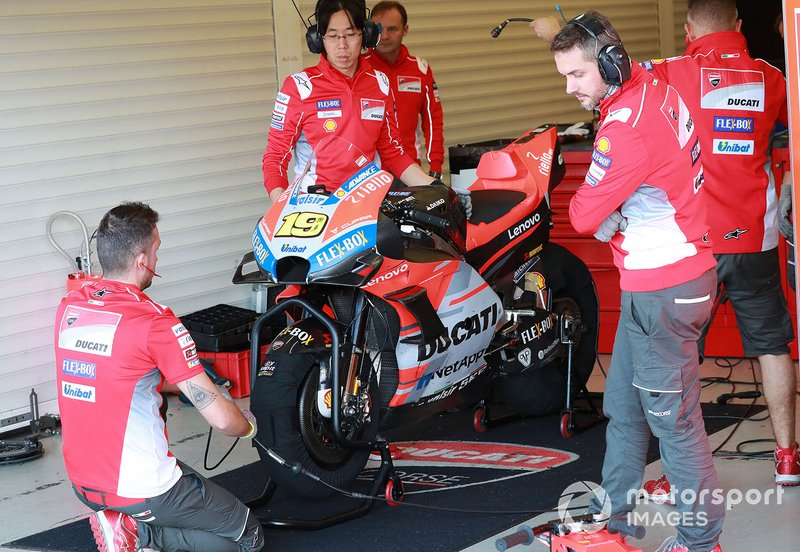 Мотоцикл Альваро Баутисты, Ducati Test Team