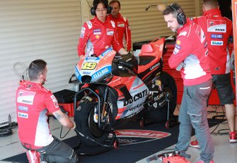 Bikes of Alvaro Bautista, Ducati Test Team