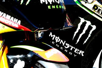La moto de Monster Yamaha Tech 3