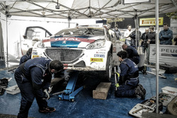 Rally Due Valli - Peugeot Sport Italia - Assistenza