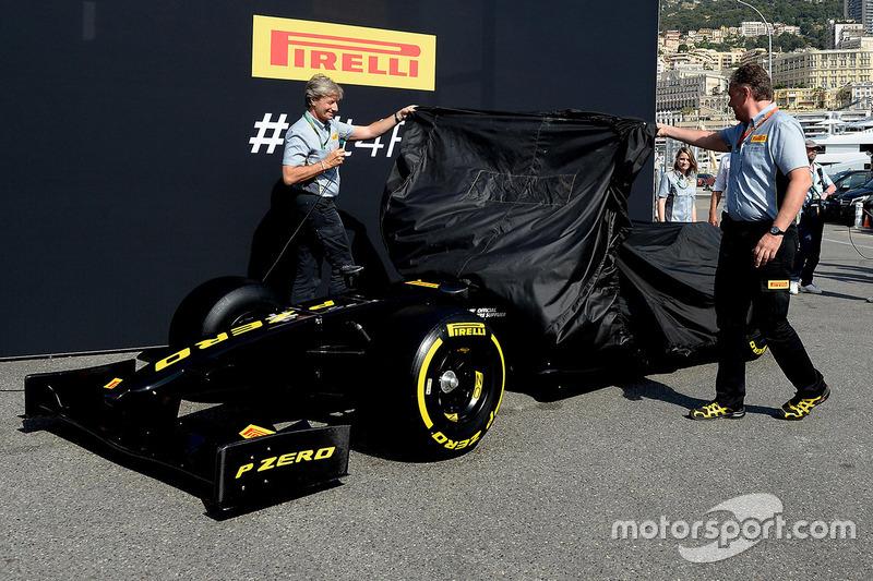Pirelli F1 showcar