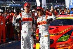 GT300 winner #55 Autobacs Racing Team Aguri BMW M6 GT3: Shinichi Takagi, Takashi Kobayashi