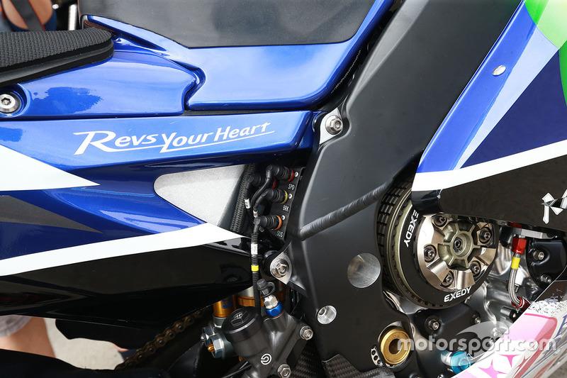 Jorge Lorenzo, Yamaha Factory Racing bike detail