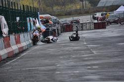 Аварія Костянтина Денисова, AWT RT, Костянтин Писарєв, SP Moto RT